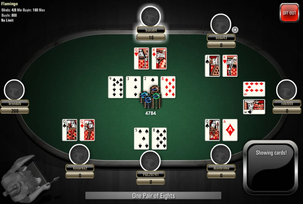 gambling options