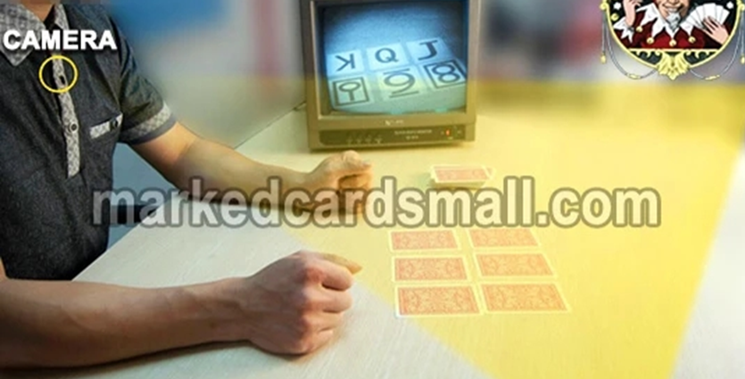 invisible ink marked decks of cards